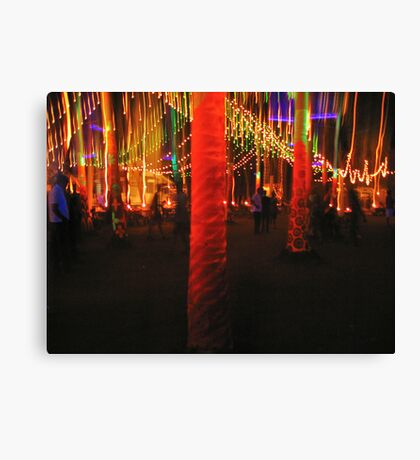 New Years' eve Canvas Print