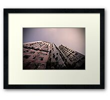 Hong Kong Highrise Framed Print