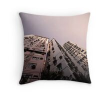 Hong Kong Highrise Throw Pillow