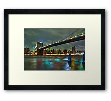 Brooklyn Bridge, NYC Framed Print