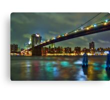Brooklyn Bridge, NYC Canvas Print