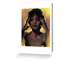 Hypnotize Poster Greeting Card