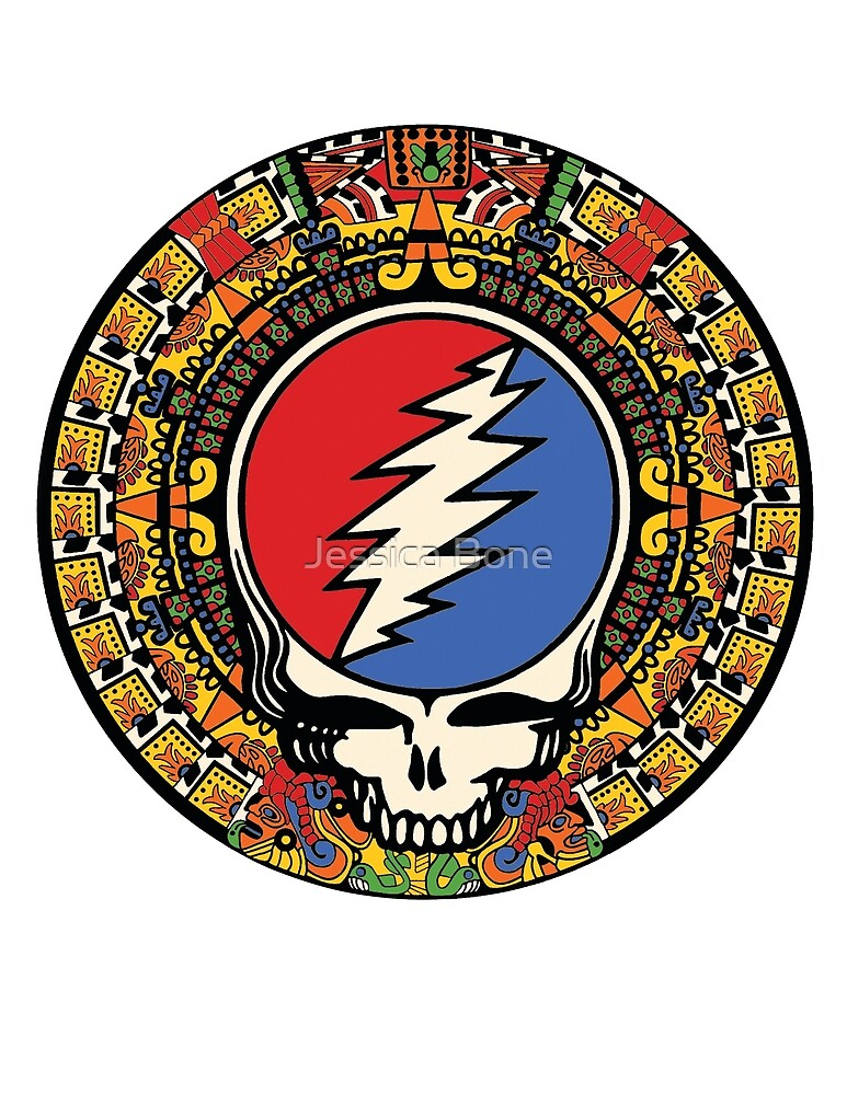2012 Mayan Steal Your Face - Full Color by Jessica Bone