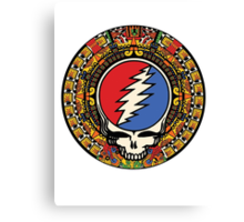 2012 Mayan Steal Your Face - Full Color Canvas Print