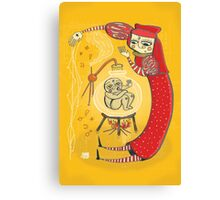 medieval Magic baby!! Canvas Print