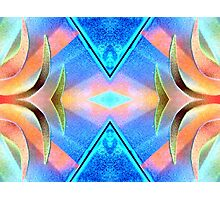 Blue's Baby Beautiful Ribbons Photographic Print