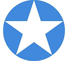 Roundel of the Somali Air Force  Photographic Print