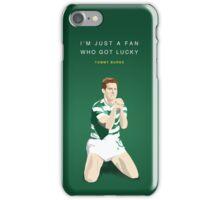 Tommy Burns - Mr Celtic iPhone Case/Skin