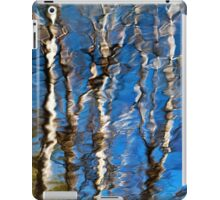 Abstract Aspen Tree Reflection iPad Case/Skin