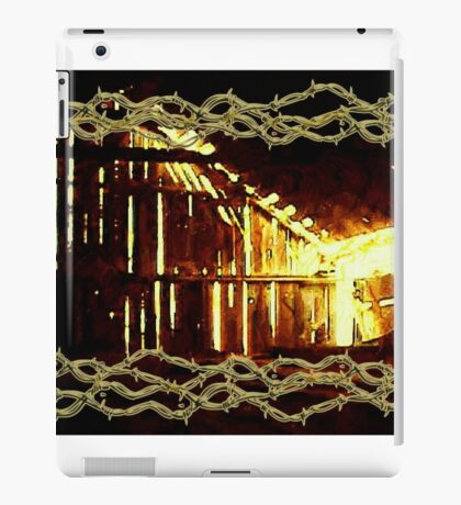 Barnlight and Barbed Wire iPad Case/Skin