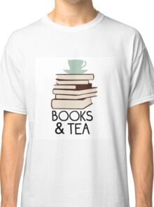 Books and tea des Classic T-Shirt