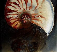 Ammonite Vs. Trilobite by Glendon Mellow