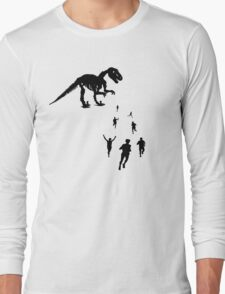 Dinosaur Chasey - Tag You're IT! Long Sleeve T-Shirt