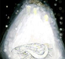 White Trilobite by Glendon Mellow