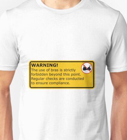 No Bras! Unisex T-Shirt