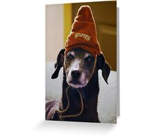 Grumpy Scooby..... Greeting Card