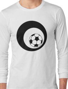 futbol : retro circles Long Sleeve T-Shirt