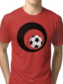futbol : retro circles Tri-blend T-Shirt