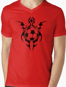 futbol : tribalz Mens V-Neck T-Shirt