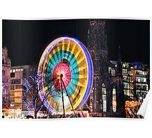 Edinburgh's Christmas Ferris Wheel Poster