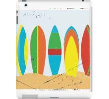 Surfboards, beach, summer, sun, surf, surfing  iPad Case/Skin