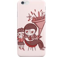 Children`s imagination iPhone Case/Skin
