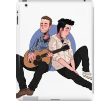 chill jam sessions iPad Case/Skin