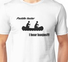 Paddle faster Unisex T-Shirt