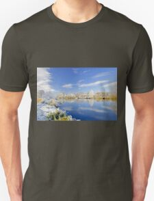 Burton's Wintry River Trent  Unisex T-Shirt