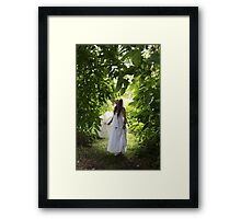 Heavenly  Green Framed Print
