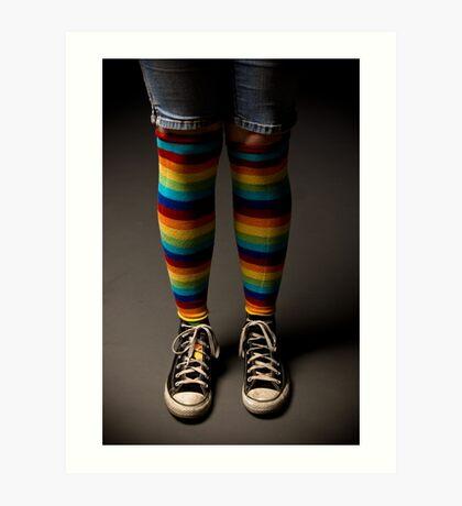American Made Socks Art Print
