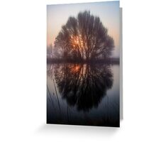 Misty and Magical Greeting Card
