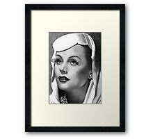 Hedy Lamarr Framed Print