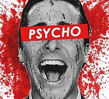American Psycho - Blood Splatter by Victor-Velocity