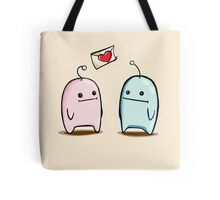 Bubble Couple Tote Bag