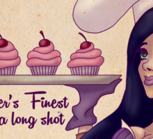 Cup-Cait's: Piltover's Finest Cupcake Emporium Sticker