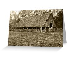Enloe-Floyd Barn Greeting Card