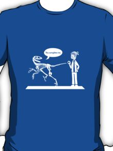 """""""You Complete Me"""" Dinosaur Tee T-Shirt"""