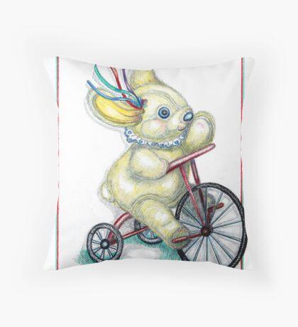 Pooky Trike Throw Pillow