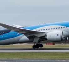 Thomson 787 Dreamliner departing Manchester Airport Sticker