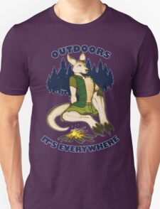 Outdoors: It's Everywhere T-Shirt