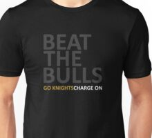 Beat The Bulls | Go Knights Charge On Unisex T-Shirt
