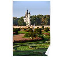 Château de Chenonceau Tower Poster