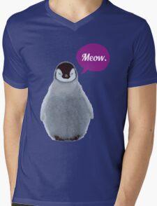 Meow. Mens V-Neck T-Shirt