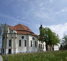 Wieskirche  by Klaus Offermann