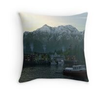 Dawn Fjord Throw Pillow