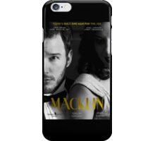 """Macklin"" poster 2 iPhone Case/Skin"