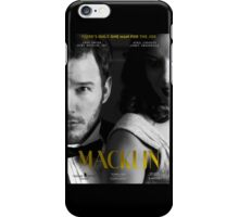 """Macklin"" poster 2 iPhone Case/Skin"