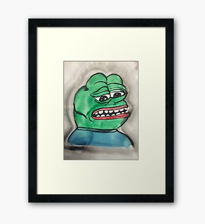 Meme Meme Meme Meme Framed Print