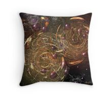 The Cacophony of Being Otherwise Engaged Throw Pillow